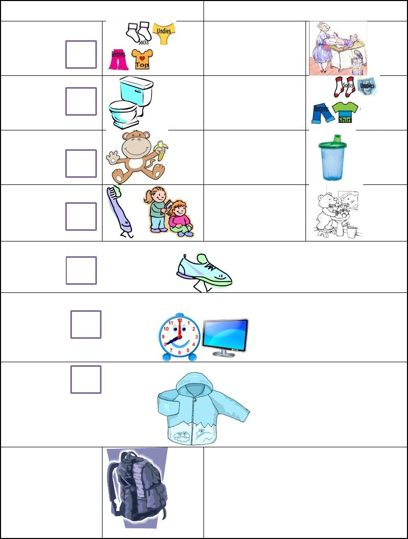 """Mandy's """"Daddy's Morning Routine Checklist"""" I created a"""
