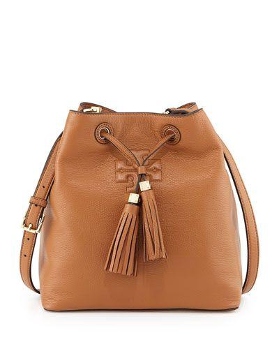 29dc86496e4c Tory Burch Thea Drawstring Bucket Bag - love