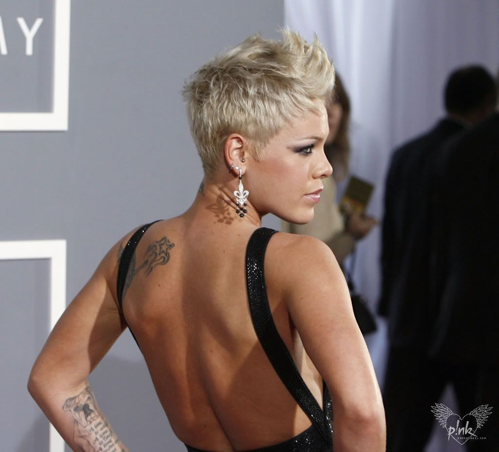 pink singer short hairstyle | fade haircut | haircut in 2019