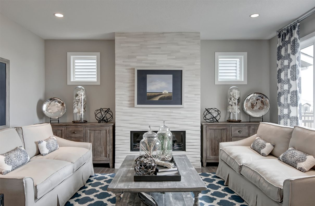 Living room design from our Charlesmark showhome in Canals Landing
