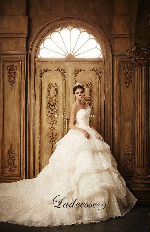 Ladeesse bridal shop in Korea, 2015 new Korean wedding