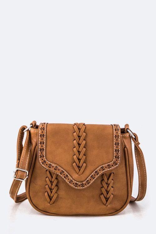 Saddle Camel Bag
