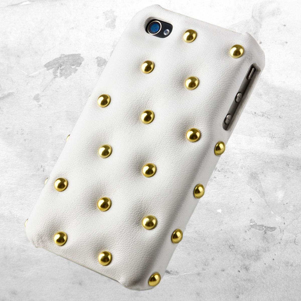 Pure bling! FunkyPunky Case White for iPhone from POCOMARU.
