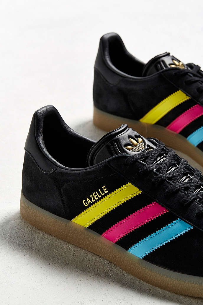 adidas Gazelle Color Stripe Pack CMYK | Zapatos | Zapatos