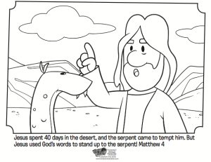 Jesus Tempted Bible Coloring Pages What S In The Bible Jesus Coloring Pages Bible Coloring Pages Jesus Tempted