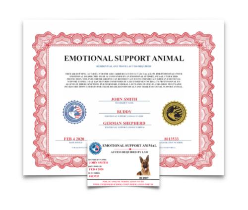 Register Your Dog Service Dog & Emotional Support Animal
