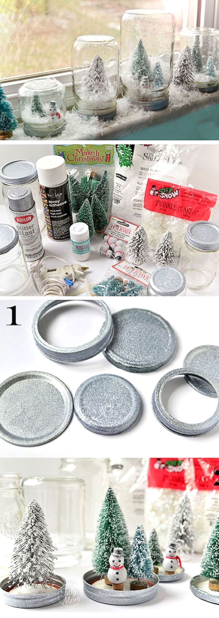 Easy diy christmas decorations ideas on a budget 46   Booth ...