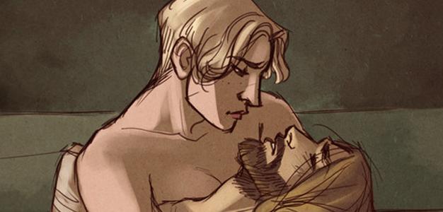 Brienne de Tarth e Jaime Lannister