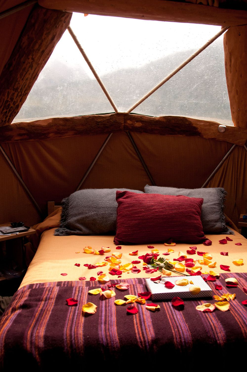 This would be a really romantic honeymoon - camping in the ...