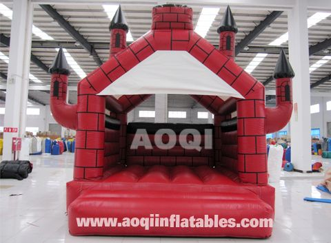 Red castle bouncer [AQ519(4*5m)]#inflatableCastles www.aoqiinflatables.com
