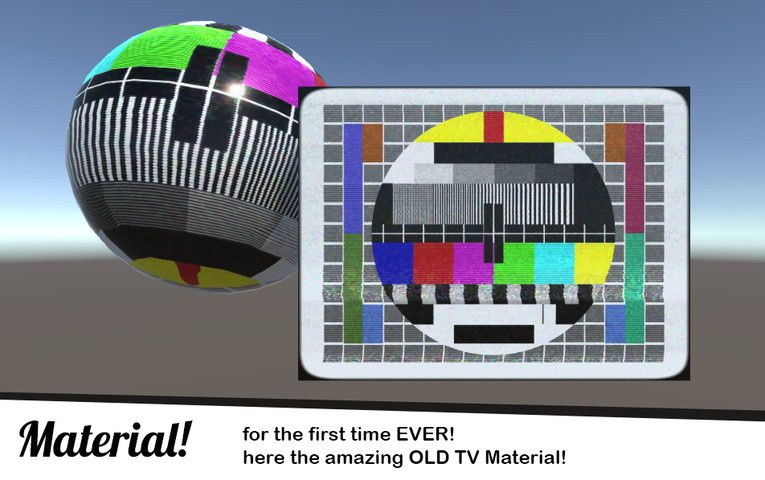 Old Tv Filter Old Tv Material Fullscreen Camera Effects Unity Asset Store In 2020 Old Tv Tv Static Olds