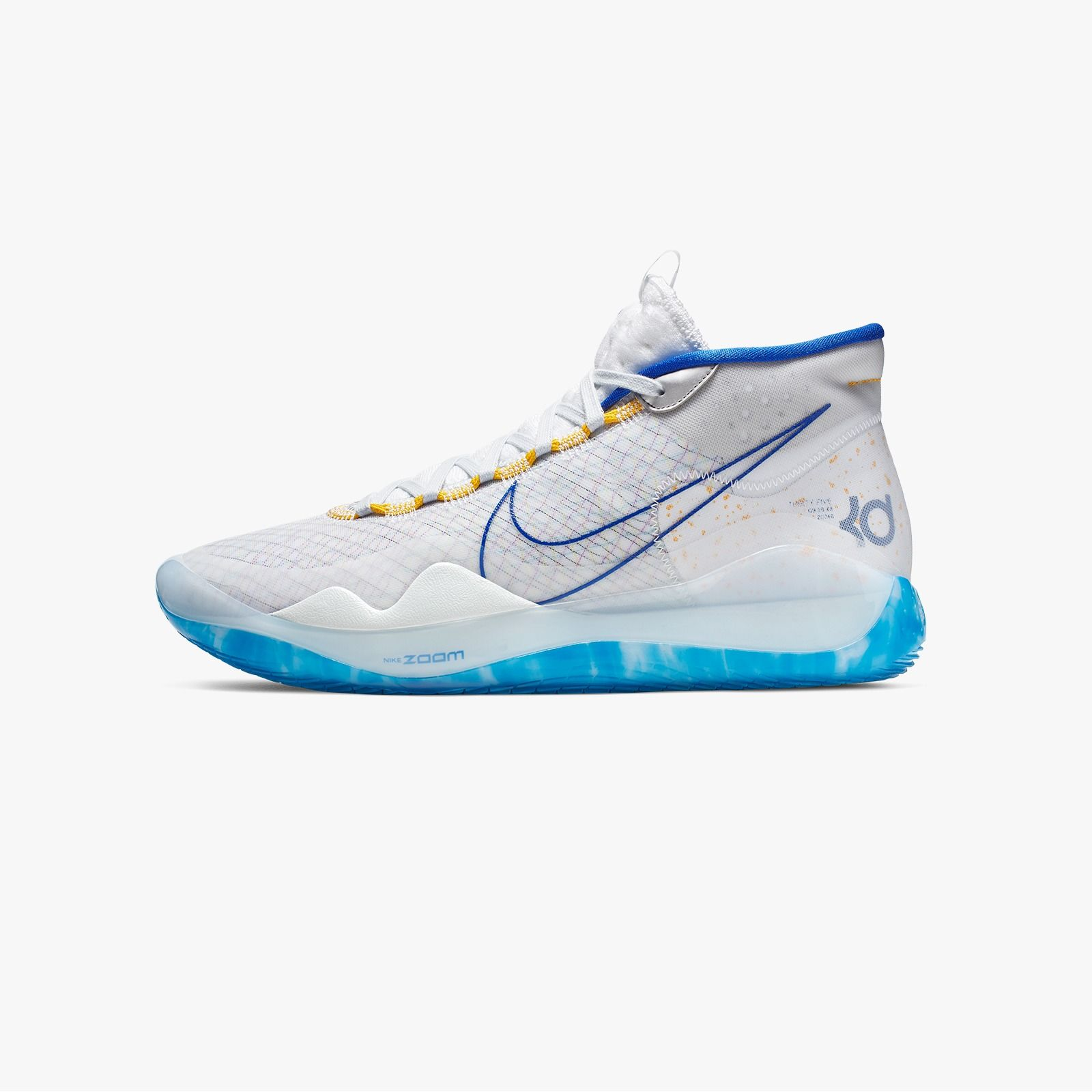 Nike Zoom Kd12 In Home Golden State Warriors Colorway Eukicks Best Basketball Shoes Golden State Warriors Nike Zoom