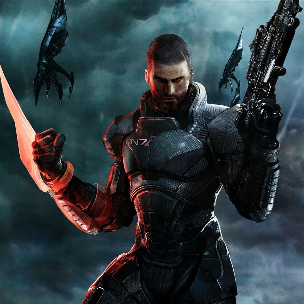Mass Effect 3 Iphone Wallpaper Игры