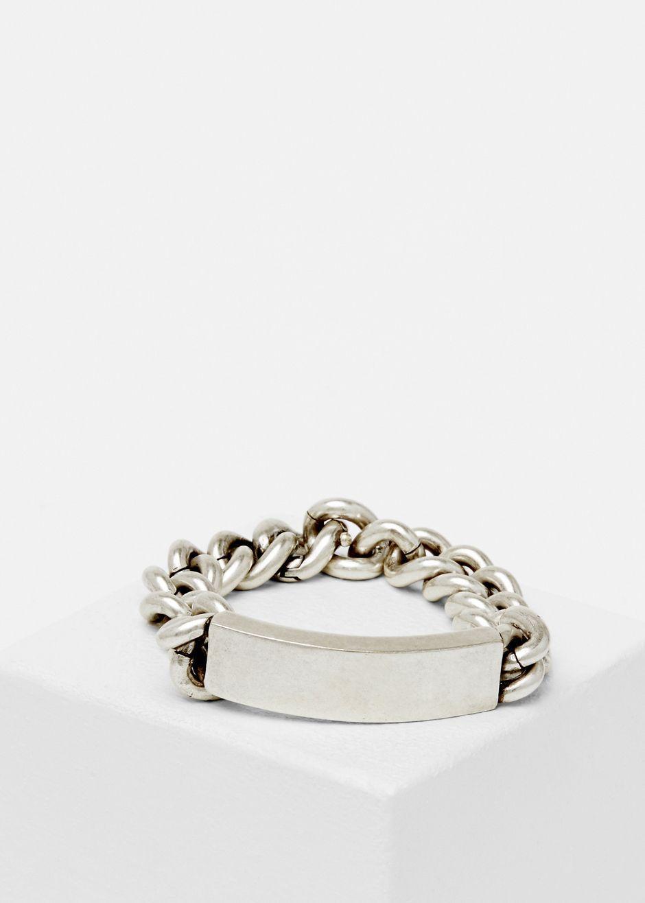 Maison Martin Margiela Id Bracelet Silver