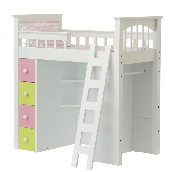 Doll Loft Bed For 18 Dolls