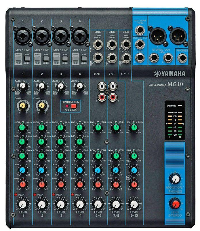 harga mixer audio yamaha model mg10 harga mixer audio. Black Bedroom Furniture Sets. Home Design Ideas