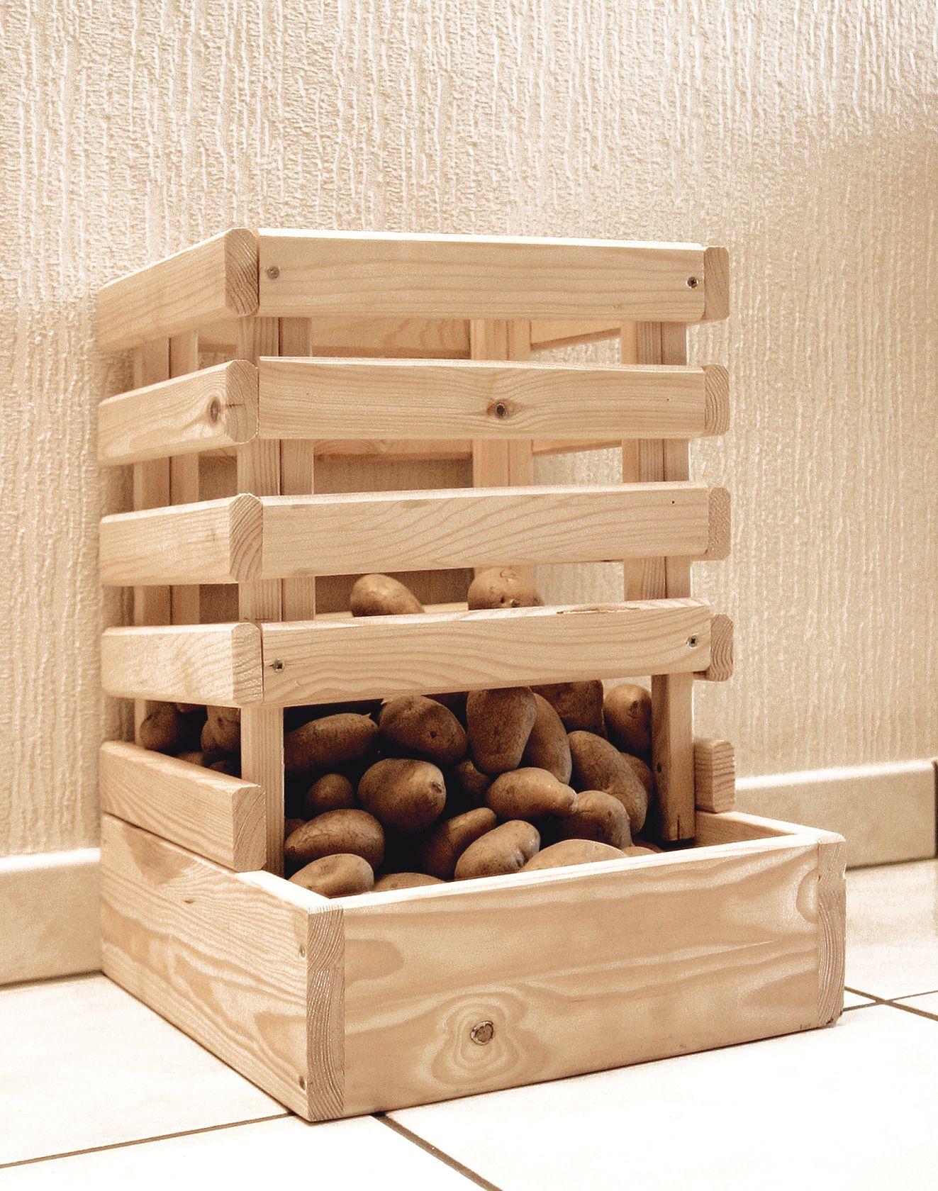 kartoffelkiste ca 30 x 42 x 46 5 cm permakultur pinterest apfelkiste obstkisten und. Black Bedroom Furniture Sets. Home Design Ideas
