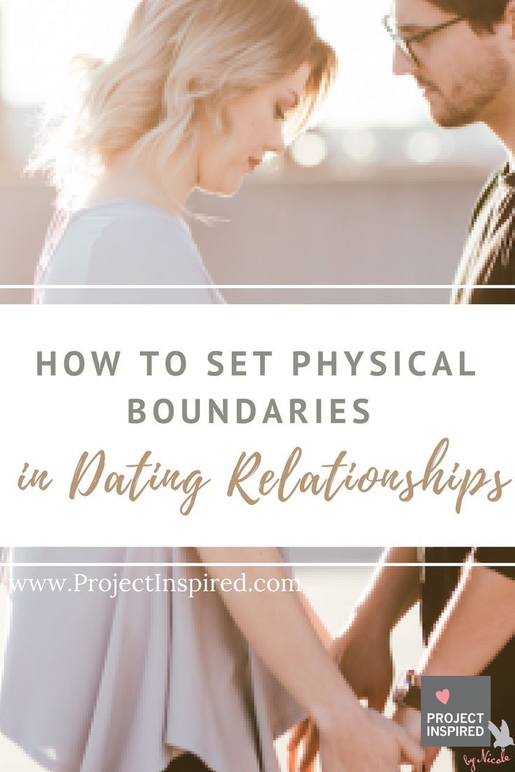 Physical boundaries in christian dating relationships