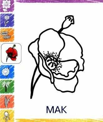 разкраска для малышей Мак распечатать бесплатно | Маки ...