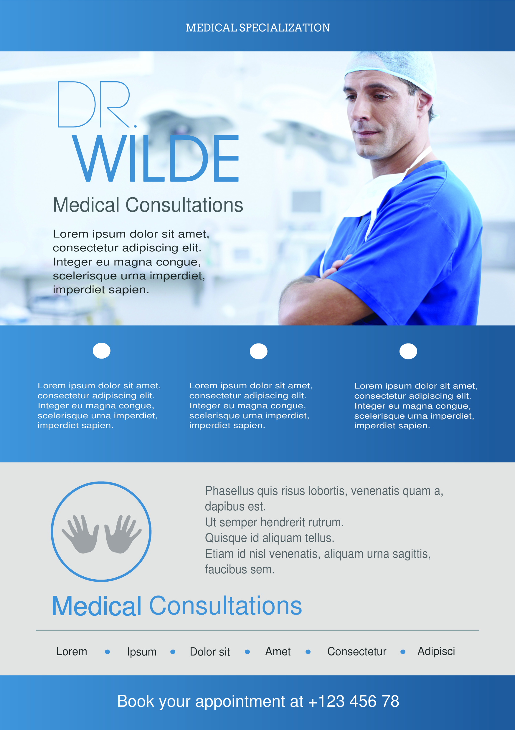 Medical Services A Promotional Flyer HttpPremadevideosComA