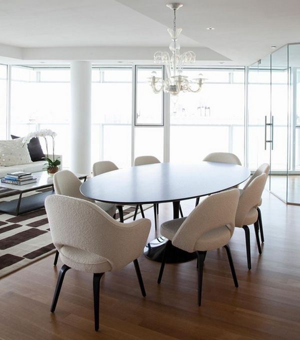 Round Dining Table Modern Chairs Dining Room Chairs Modern