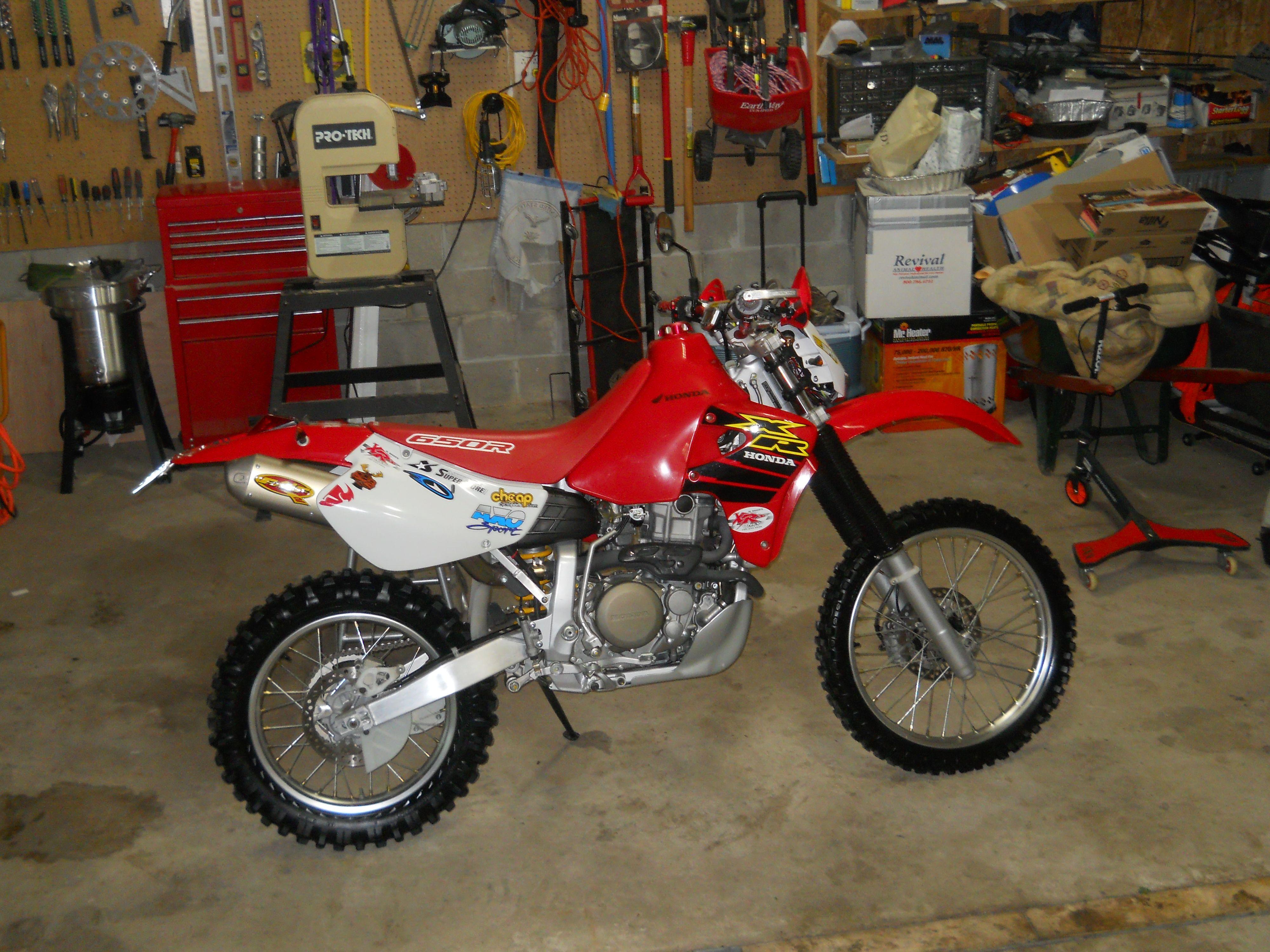 My 2000 Honda Xr650r Brp Awesome Bike Youth Dirt Bikes Adventure Bike Dual Sport Motorcycle