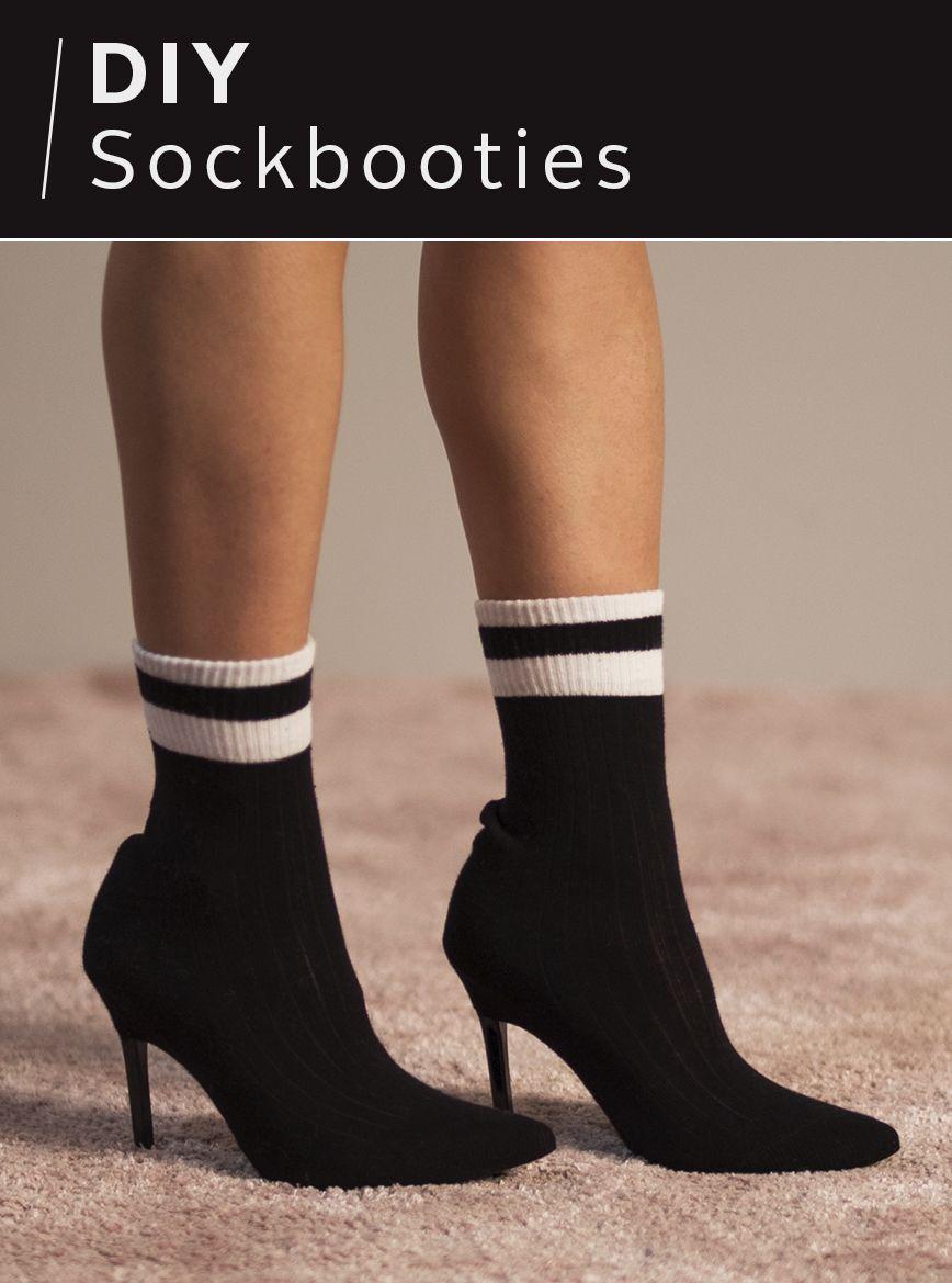 Wow Die Sock Boots Sind Mega Angesagt Und Passen Super Zum Rock