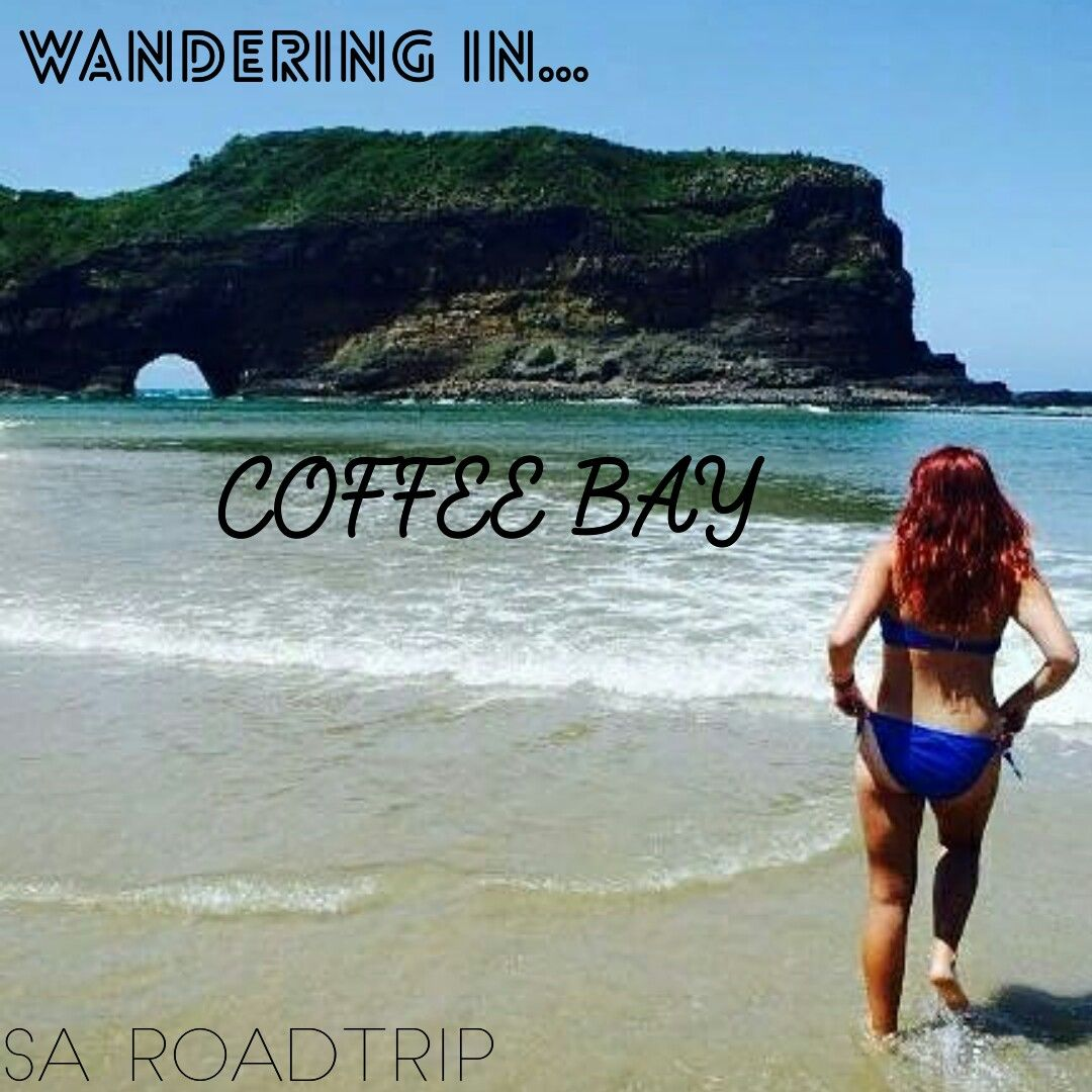 Blog post on wandering in coffee bay, south Africa
