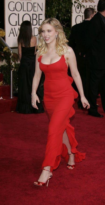 Scarlett Johansson at Golden Globes 2006 4 | Pretty ...