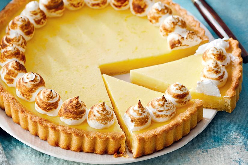 Recipe: lemon tart | Style at Home -   18 spring desserts Fancy ideas