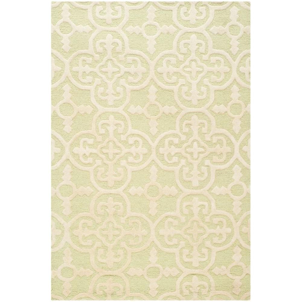 Safavieh Cambridge Lavender Ivory 4 Ft X 6 Ft Area Rug Cam130c 4