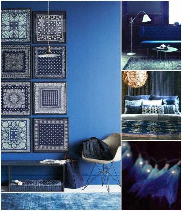 Aktuelle Blautöne Und Farbmuster In Der Raumgestaltung