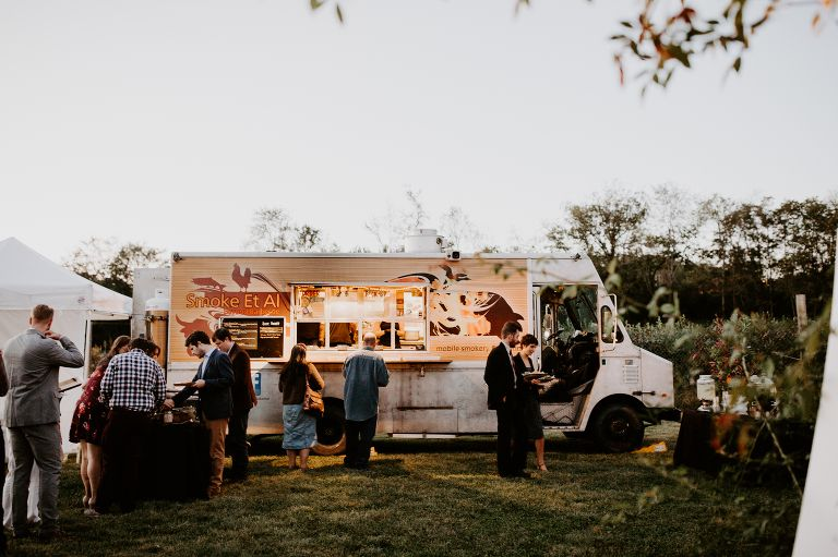Carly and Peter Food truck wedding, Wedding favor