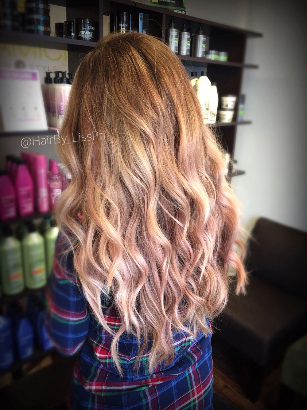 Light Blonde Hair Balayage