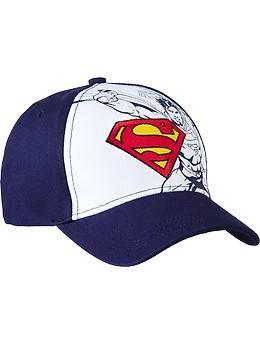 60ab99f6899 Boys DC Comics™ Superman Baseball Caps