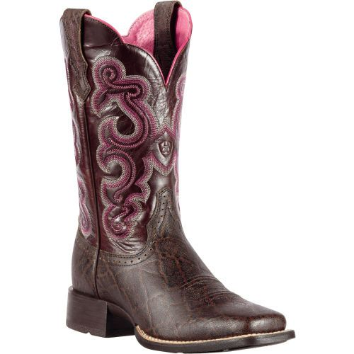 10010942 Ariat Mens Quickdraw Western Boots