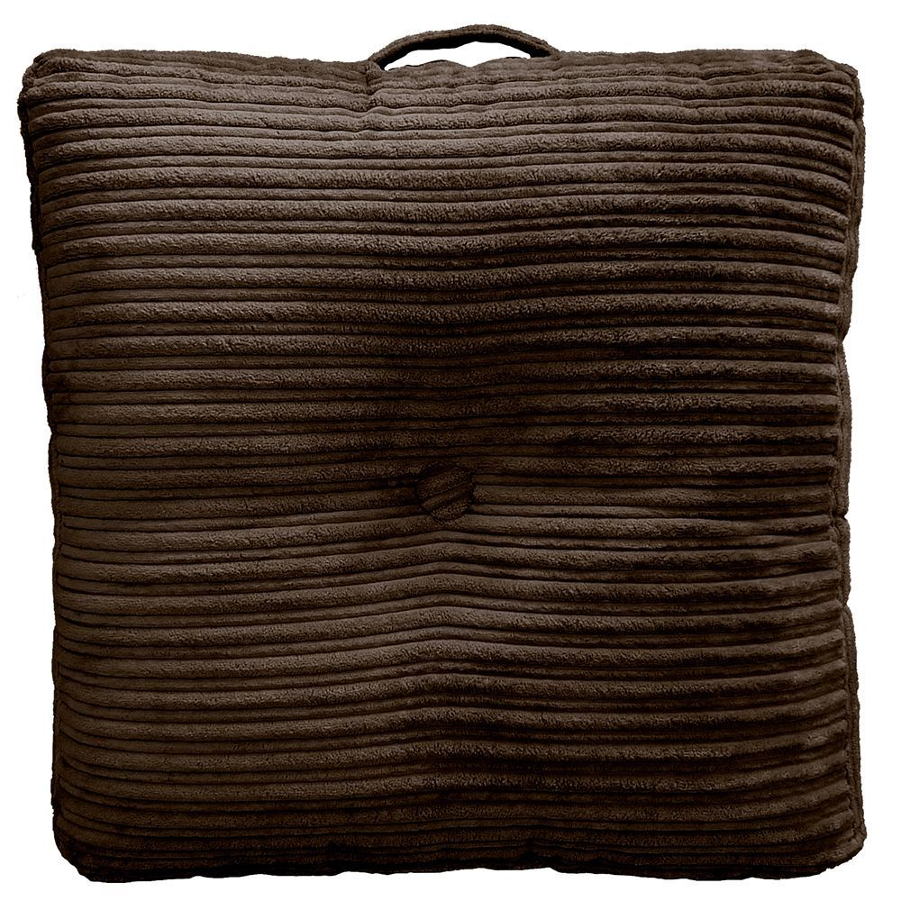 Hi-Lo Plush Oversize 24-inch Floor Cushion Pillow (