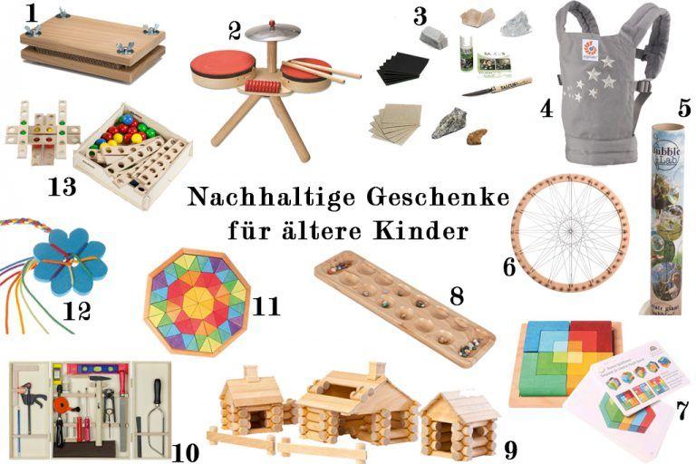 Nachhaltige Geschenkideen für Kleinkinder   Holzspielzeug