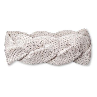 Women's Knit Braided Headband