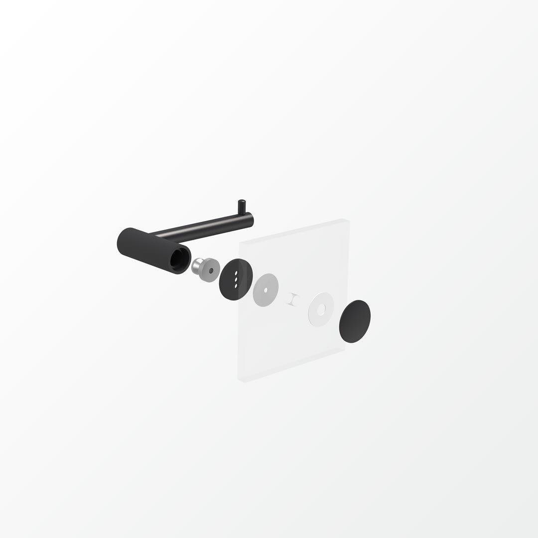 The Plus Range of Bathroom Accessories in Matt Black from Avenir ...