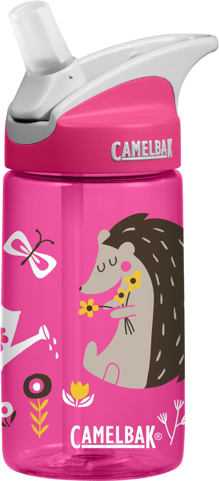 """Camelbak Kids Eddy Girls Anti-Spill Water//Drinks Hydration Bottle /""""Hedgehogs/"""""""