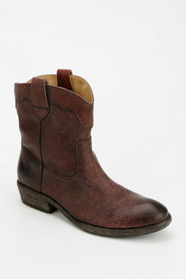 frye carson ankle boot stylish things