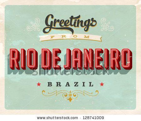 Vintage touristic greeting card rio de janeiro brazil greetings vintage touristic greeting card rio de janeiro brazil m4hsunfo