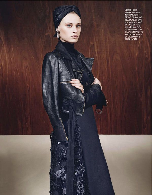 Paulina Heller Plays 'Une Femme Française, Lensed By Marcin Tyszka For Elle France, Dec. 20,2013 - 3 Sensual Fashion Editorials | Art Exhib...