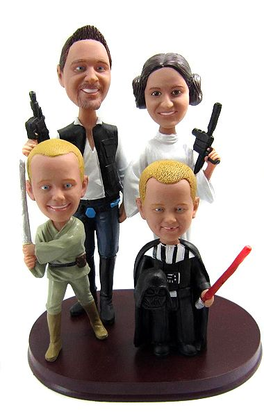Star Wars Wedding Cake Toppers For Blended Families