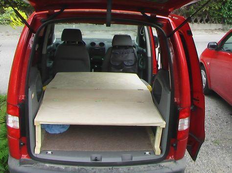 caddy ausbau zum camper auto auto camping campingbus. Black Bedroom Furniture Sets. Home Design Ideas