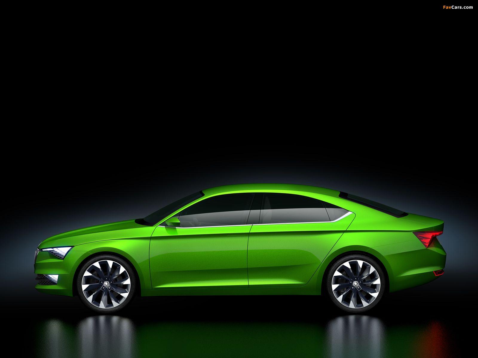 Škoda visionc concept 2014