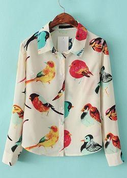 Size Available :S,M,L Type :Slim Color :Apricot Style :Streetwear Material :Chiffon Collar :Lapel Sleeve Length :Long Sleeve Pattern Type :Animal Prints Decoration :Buttons Shoulder(cm) :S:36CM,M:38CM,L:40CM Bust(cm) :S:94CM,M:96CM,L:98CM Length(cm) :S:56CM,M:58CM,L:60CM Sleeve Length...
