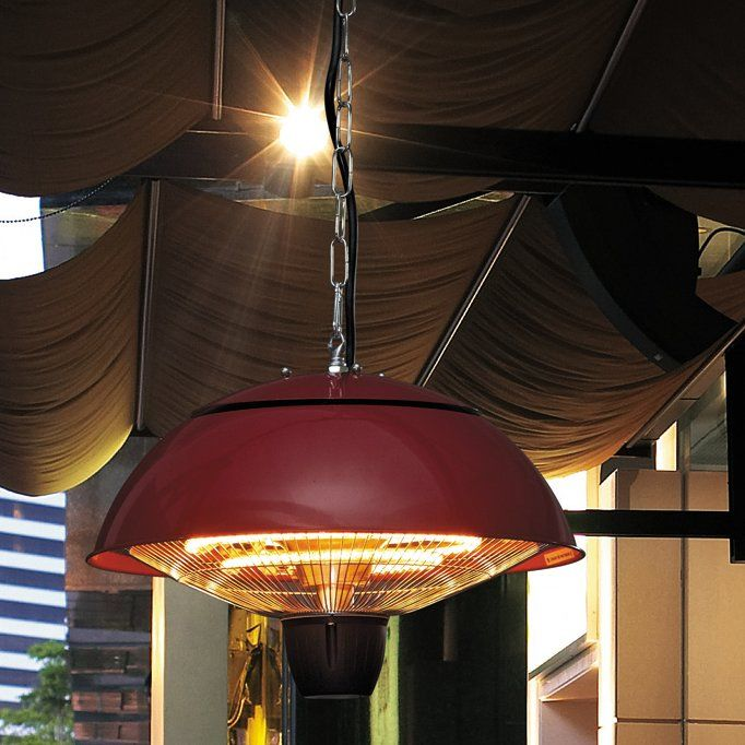 Infrared 1500 Watt Electric Hanging Patio Heater