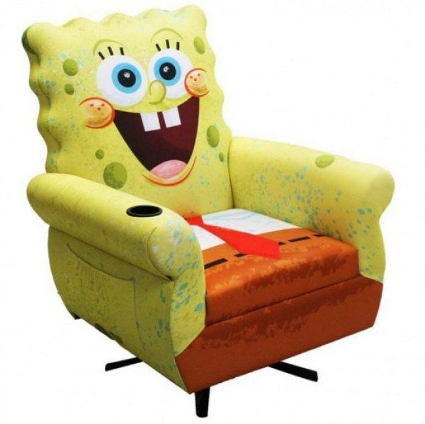 Top 10 Character Movie Themed Armchairs Armchair Kids Rocking Chair Baby Rocking Chair #spongebob #living #room #chair
